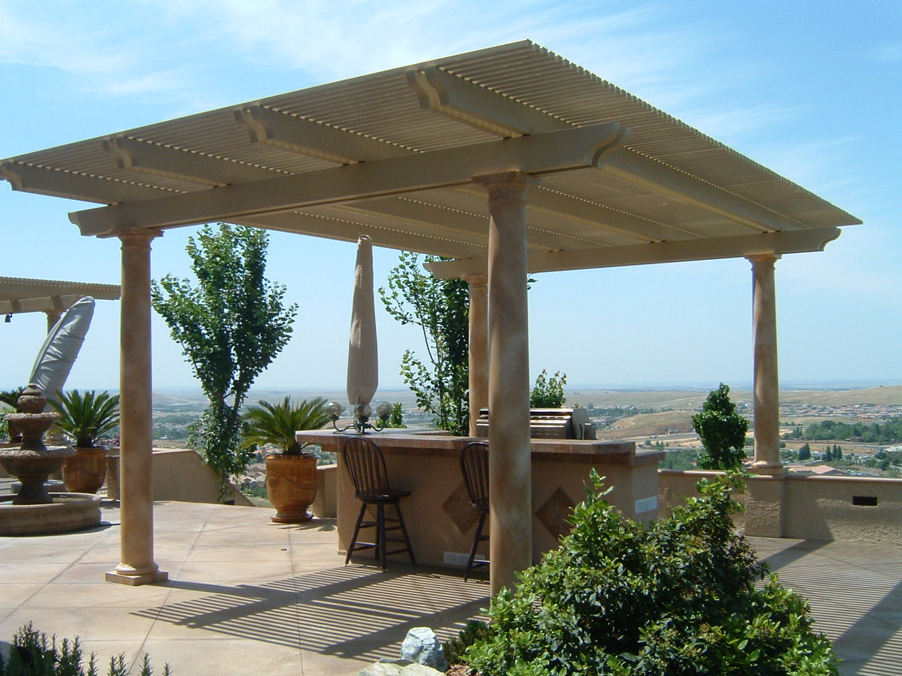 Freestanding Pergola Cover · Two Post Patio ...